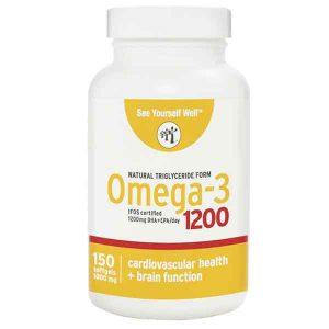 See Yourself Well Omega-3 Softgels EPA 400mg