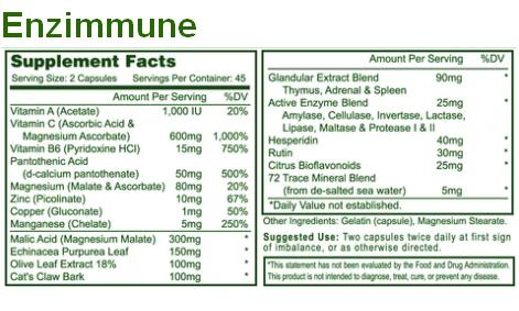 Enzyme Process Enzimmune Ingredients