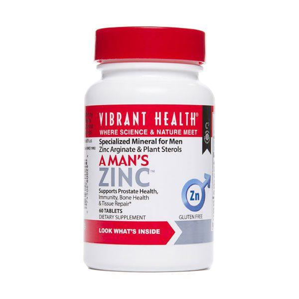 A man's zinc