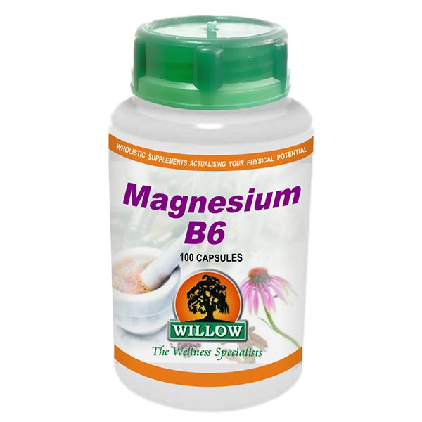 Willow Magnesium B6 capsules