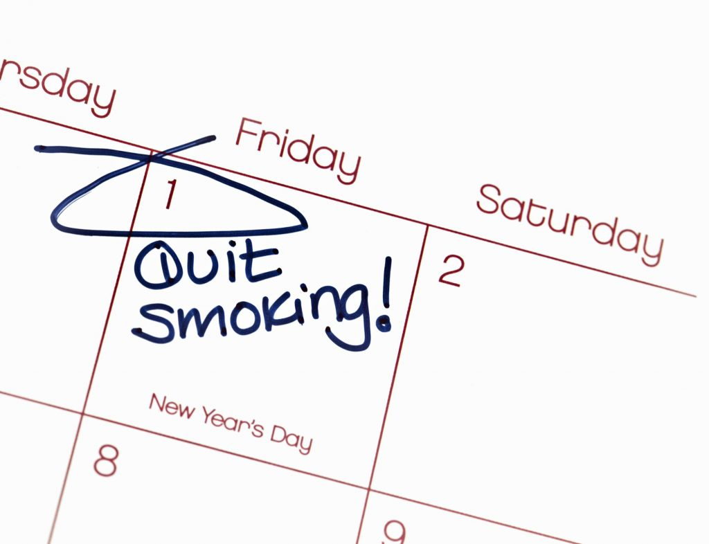 new years resolution to quit smoking