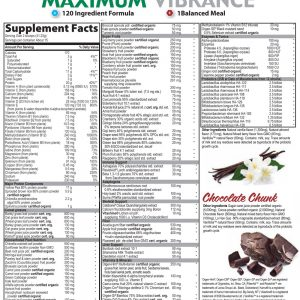Maximum Vibrance Ingredients